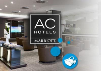 Eventos realidad virtual AC Hotels | Xperiencia Virtual