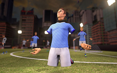 VRFC, el juego de fútbol para realidad virtual