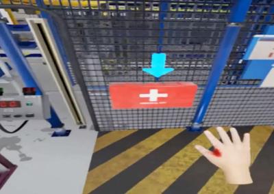 Realidad virtual en producción botiquín | Xperiencia Virtual