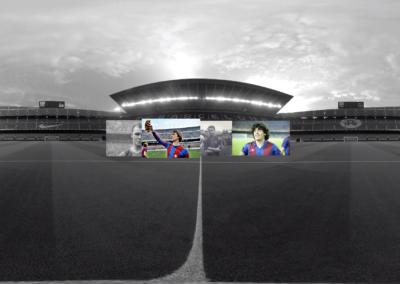 Captura proyecto FC Barcelona | Xperiencia Virtual