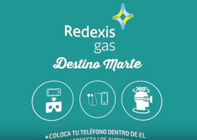 Captura proyecto Redexis Gas | Xperiencia Virtual