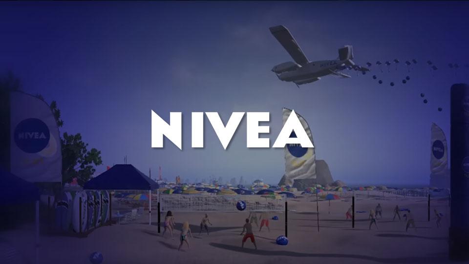 Realidad virtual marketing Nivea listado   Xperiencia Virtual