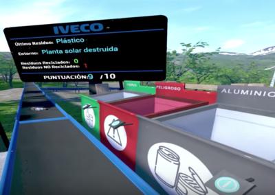 Captura proyecto Iveco Reciclaje | Xperiencia Virtual