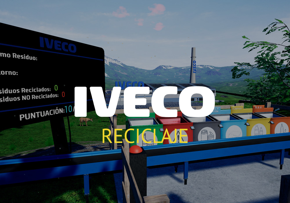 Realidad virtual para reciclar listado | Xperiencia Virtual
