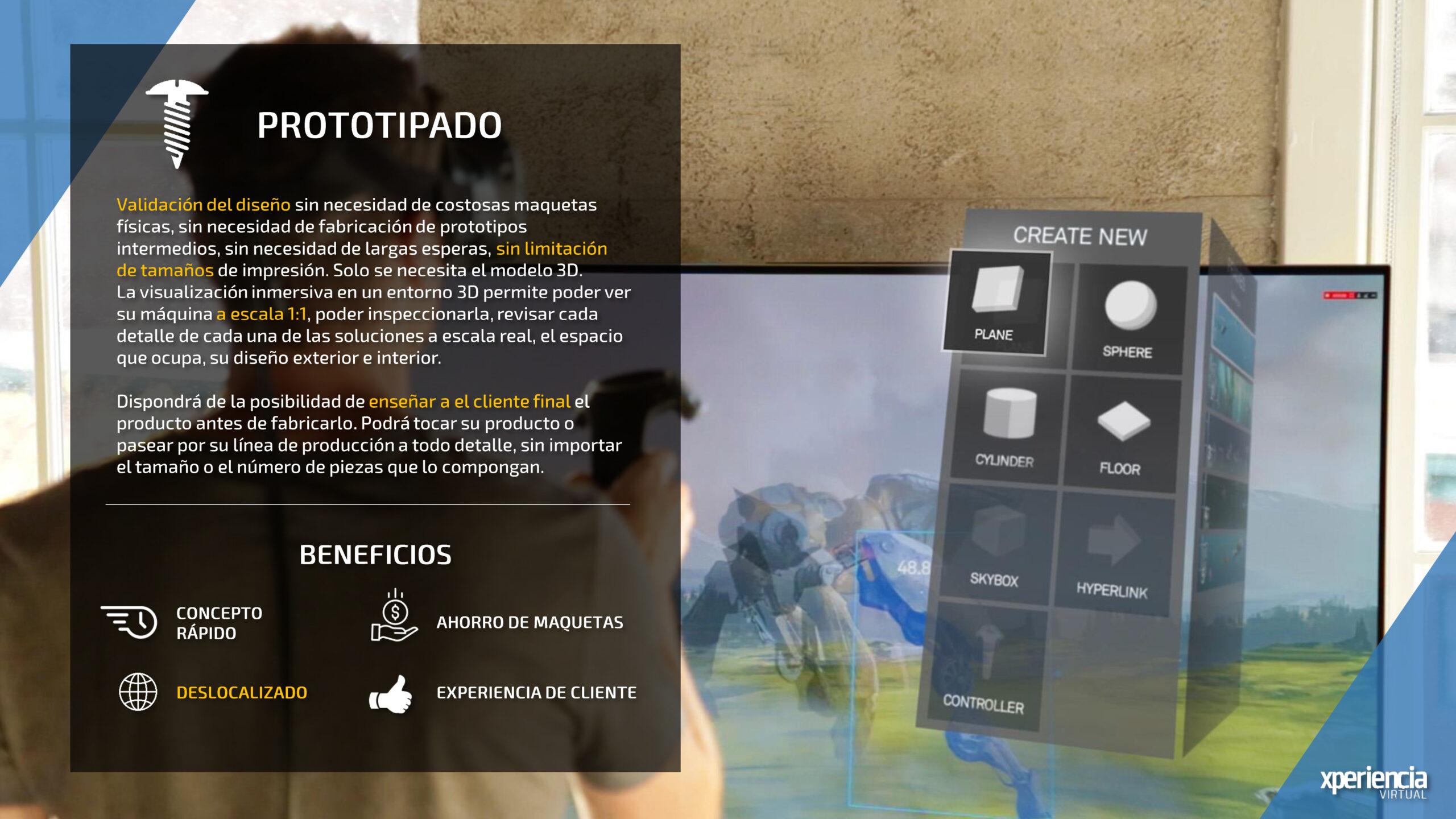 Prototipado Realidad Virtual Realidad Aumentada Industria 4.0