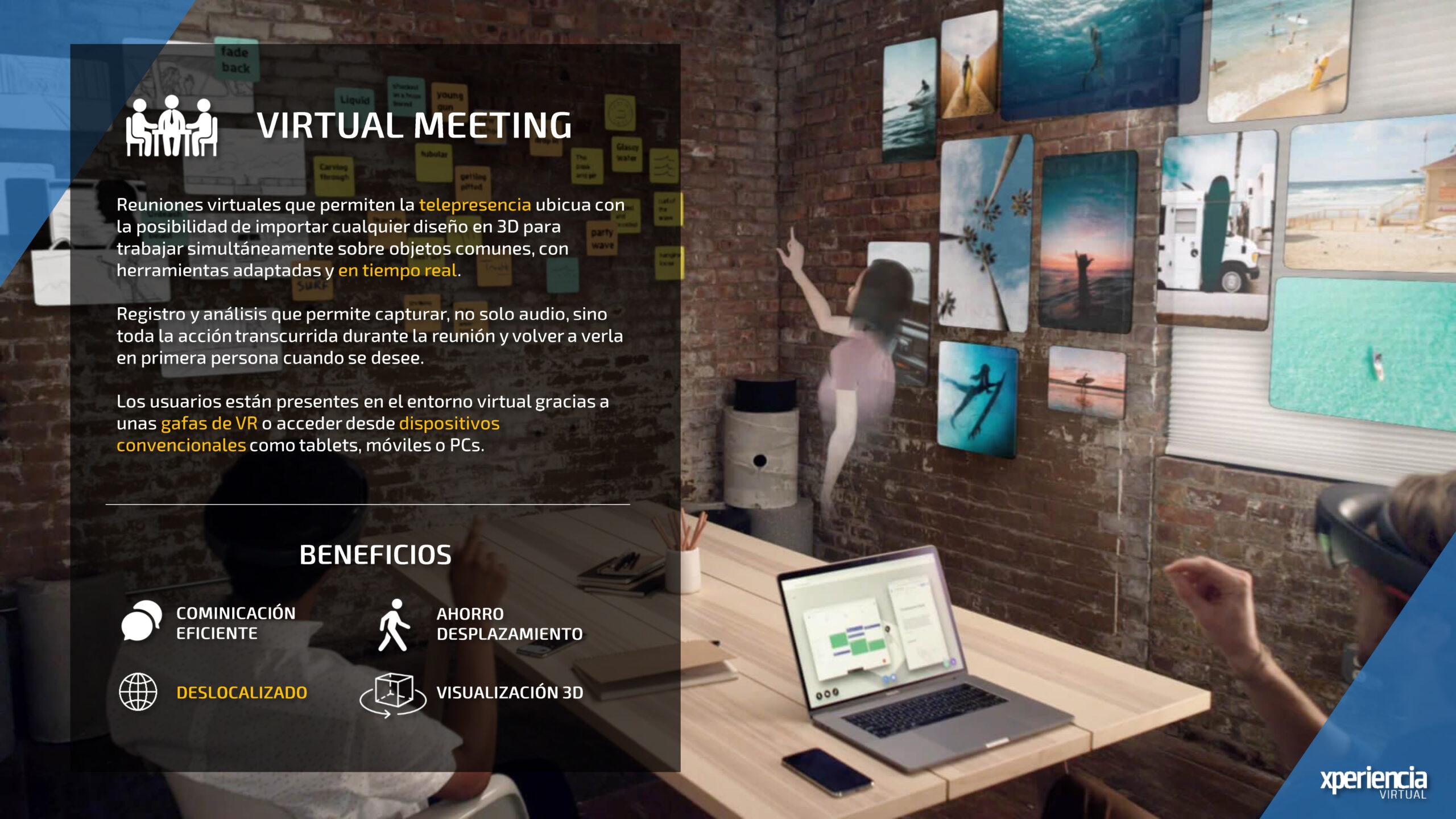 Virtual Meeting Realidad Virtual Realidad Aumentada Industria 4.0